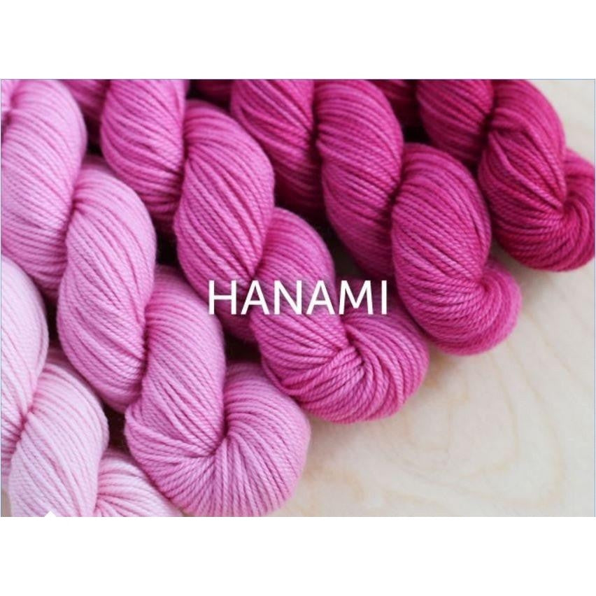 Sweet Georgia Yarns Party of Five Mini-Skein Sets Hanami - 5