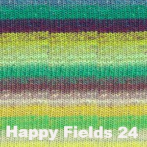 Noro Shiraito Yarn-Yarn-Happy Fields 24-