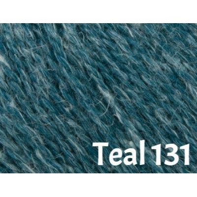 Rowan Hemp Tweed Yarn Teal 131 - 11
