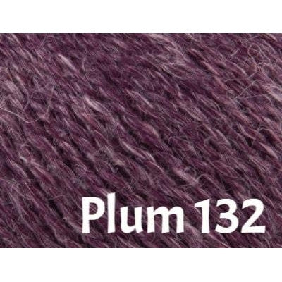 Rowan Hemp Tweed Yarn Plum 132 - 10