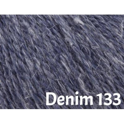 Rowan Hemp Tweed Yarn Denim 133 - 9