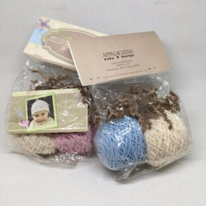Hill & Holler Hat Knit Baby Hat Kit-Yarn-Pink-