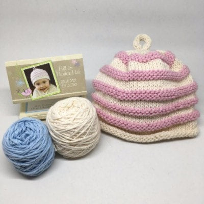 Hill & Holler Hat Knit Baby Hat Kit  - 1