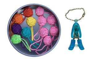 HiyaHiya Yarn Ball Stitch Marker Gift Tin-Knitting Accessory-Paradise Fibers
