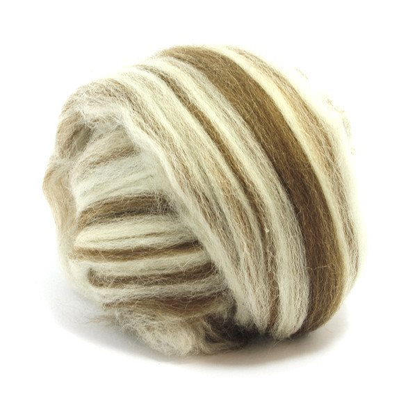 Paradise Fibers Finn Wool Tops (4 oz bag) Humbug - 5