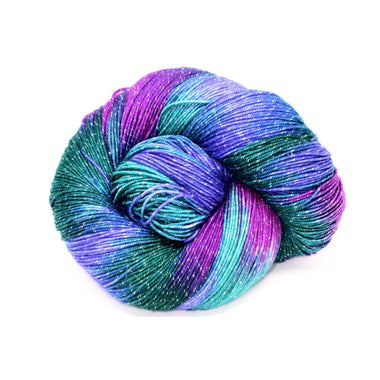 Yarn Club Exclusive - Abstract Fiber Fireworks