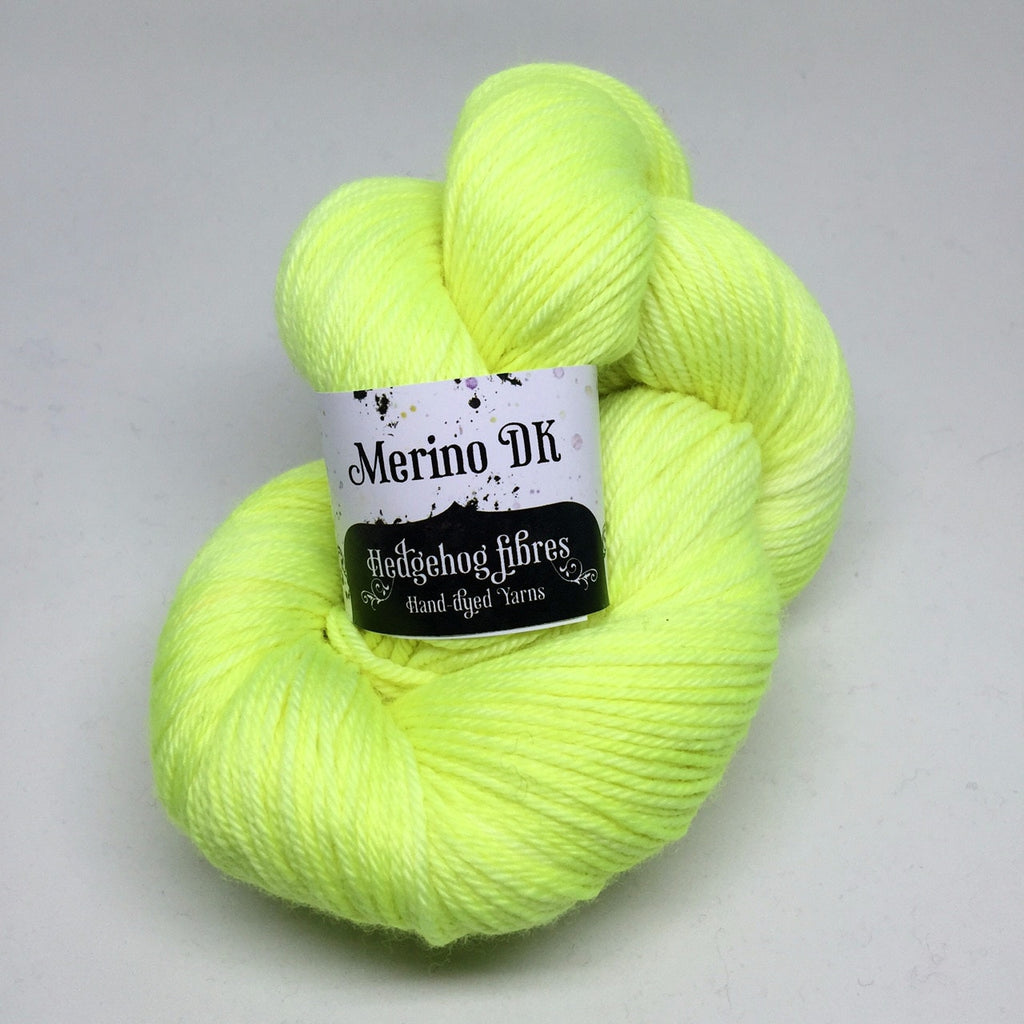 Hedgehog Fibres Merino DK Yarn Highlighter - 5