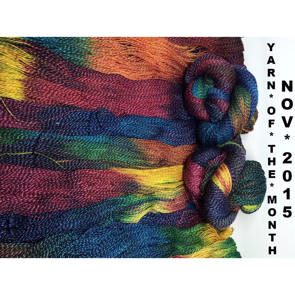 Yarn of the Month Club Exclusive- Twizzlefoot Nyan Cattail  - 2