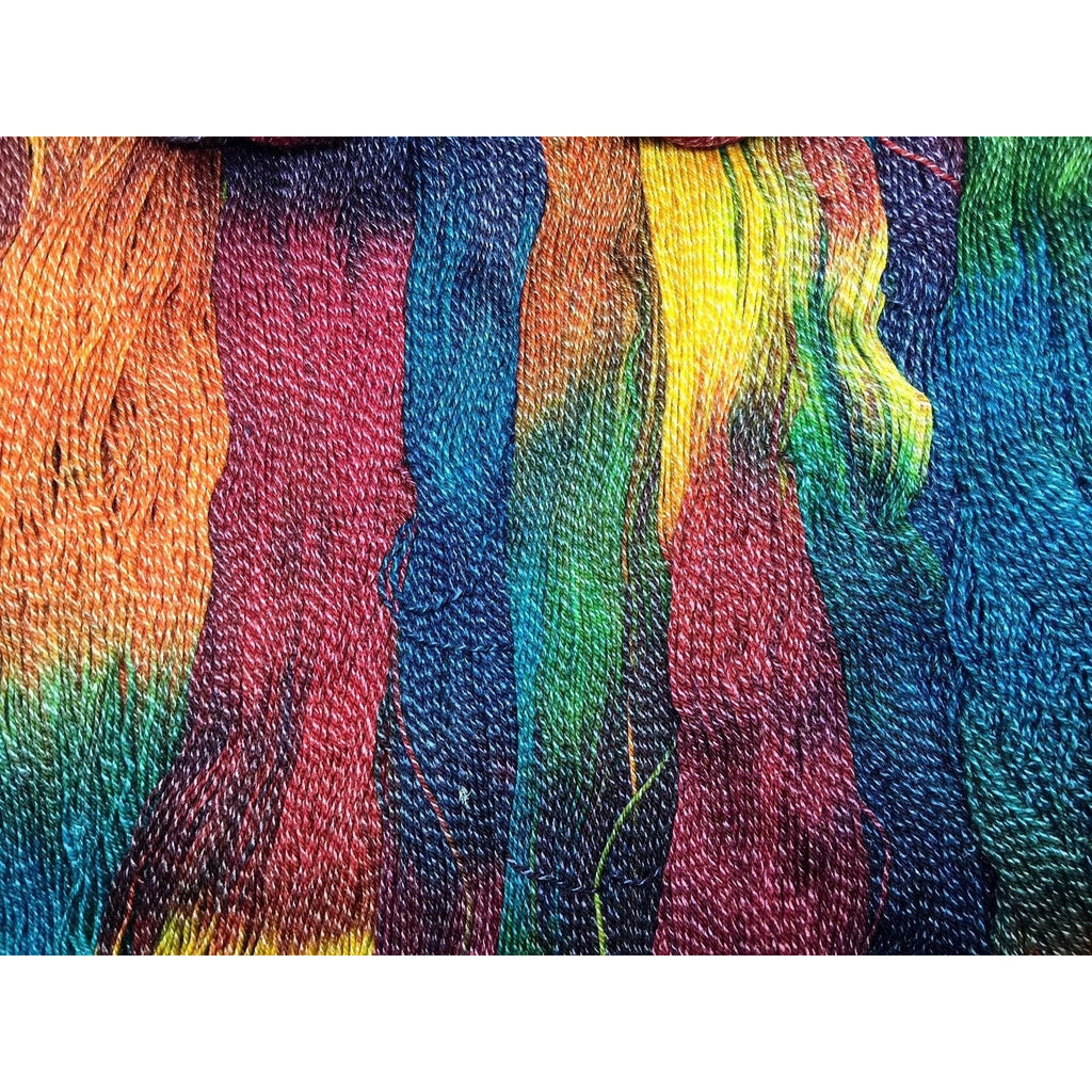 Yarn of the Month Club Exclusive- Twizzlefoot Nyan Cattail  - 1