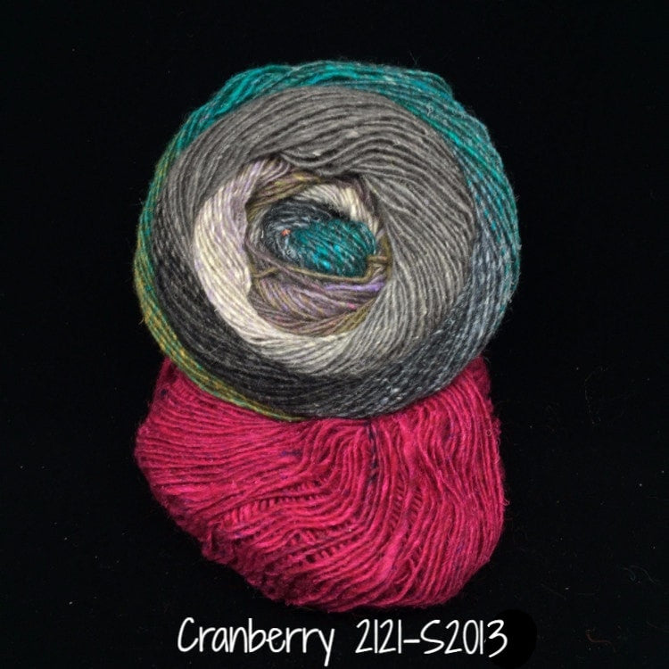 Noro Mosaic Cowl Kit with Downloadable Pattern Cranberry 2121/S2014 - 3