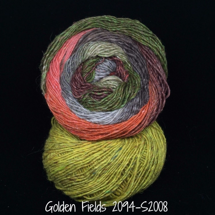 Noro Mosaic Cowl Kit with Downloadable Pattern Golden Fields 2094/S2008 - 4