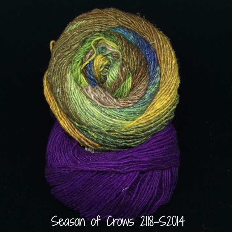 Noro Mosaic Cowl Kit with Downloadable Pattern Season of Crows 2118/S2014 - 5