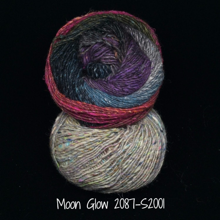 Noro Mosaic Cowl Kit with Downloadable Pattern Moon Glow 2087/S2001 - 6