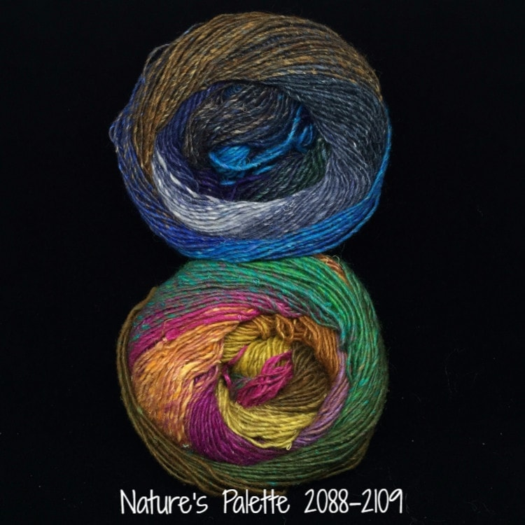 Noro Mosaic Cowl Kit with Downloadable Pattern Nature's Palette 2088/2109 - 8