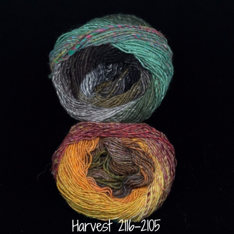 Noro Mosaic Cowl Kit with Downloadable Pattern Harvest 2116/2105 - 9
