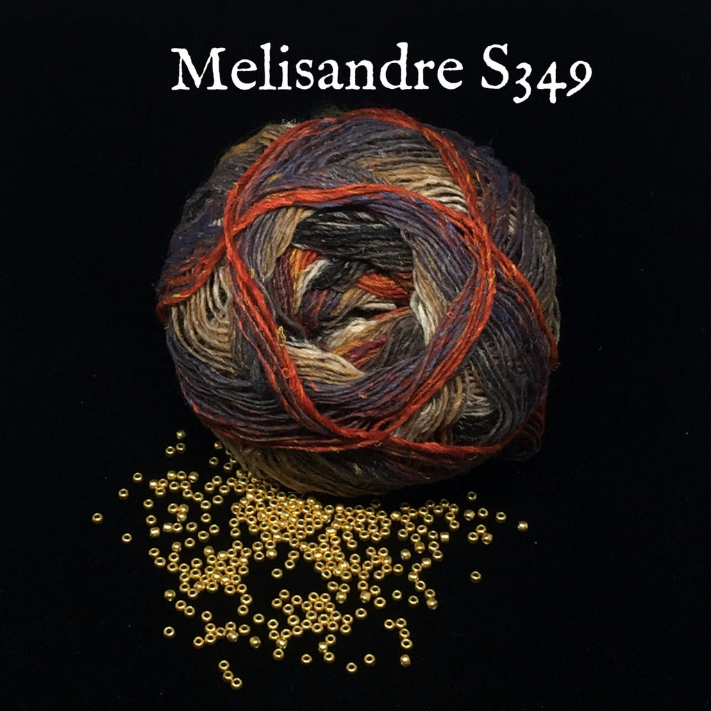 Noro Bandanna Cowl Kit- With Printed Pattern Melisandre S349 - 3