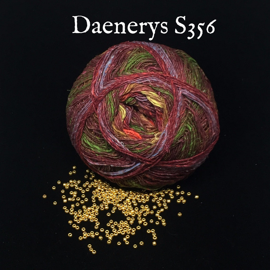 Noro Bandanna Cowl Kit- With Printed Pattern Daenerys S356 - 4