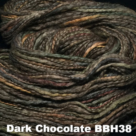 Misti Alpaca Baby Me Boo Hand Painted Yarn Dark Chocolate BBH38 - 3