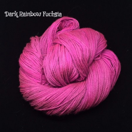 Wonderland Yarns - Cheshire Cat Dark Rainbow Fuchsia - 10