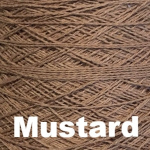 Paradise Fibers Special 8/2 Cotton Yarn-Weaving Cones-Mustard-
