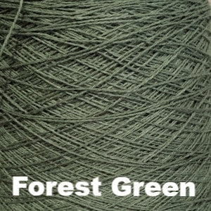 Paradise Fibers Special 8/2 Cotton Yarn-Weaving Cones-Forest Green-