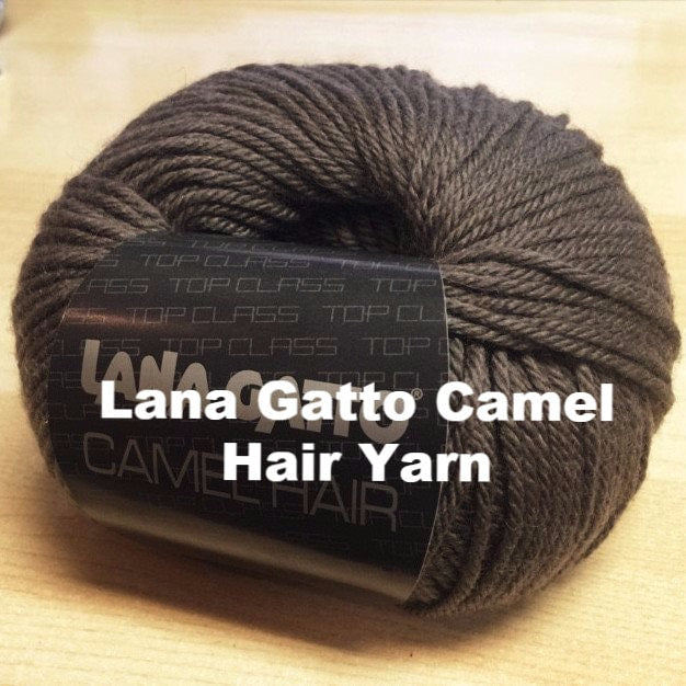 Paradise Fibers Yarn Lana Gatto Camel Hair Yarn  - 1
