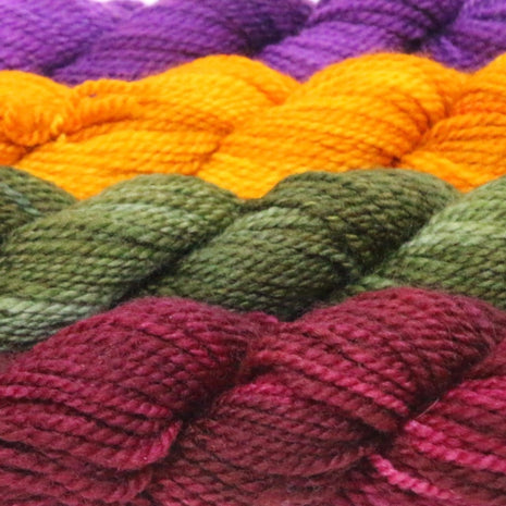 Blue Ridge Yarns - Footlights-Yarn-Blue Ridge Yarn Company-Pansies 042-Paradise Fibers