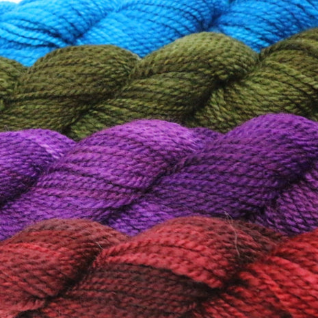 Blue Ridge Yarns - Footlights-Yarn-Blue Ridge Yarn Company-Navajo Sunset 003-Paradise Fibers