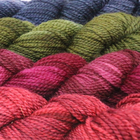 Blue Ridge Yarns - Footlights-Yarn-Blue Ridge Yarn Company-Wild Cherry 002-Paradise Fibers