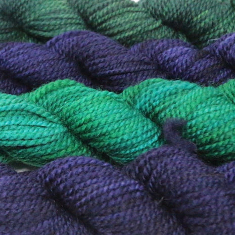 Blue Ridge Yarns - Footlights-Yarn-Blue Ridge Yarn Company-Blue Lagoon 026-Paradise Fibers