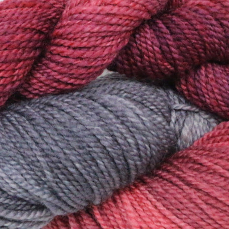 Blue Ridge Yarns - Footprints-Yarn-Blue Ridge Yarn Company-Victorian Rose 040-Paradise Fibers