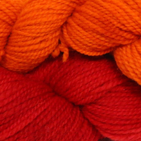 Blue Ridge Yarns - Footprints-Yarn-Blue Ridge Yarn Company-Dragon's Breath 030-Paradise Fibers