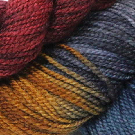 Blueberry Waffle Socks Kit-Yarn-Blue Ridge Yarn Company-River Rocks 043-Paradise Fibers