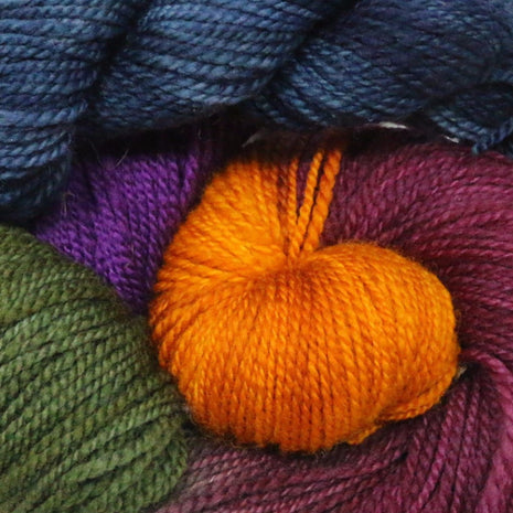 Blue Ridge Yarns - Footprints-Yarn-Blue Ridge Yarn Company-Pansies 042-Paradise Fibers