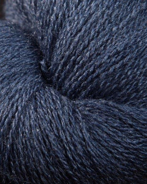Jagger Spun Zephyr Wool-Silk Natural Yarn - Lace Weight 2/18-Yarn-1lb Cone-Indigo-