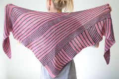 Itineris Shawl Pattern by The Yarniad  - 5