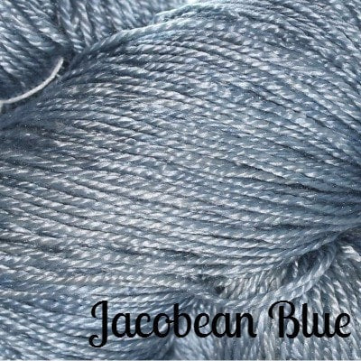 Hand Maiden Fine Yarns - Sea Silk Jacobean Blue - 4