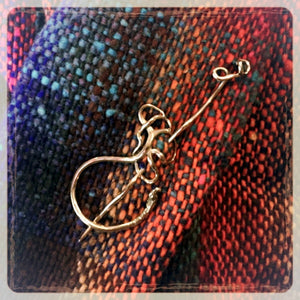 Jul Designs Wild Grape Tendril Shawl Pin-Shawl Pin-