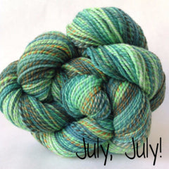 Spincycle Yarns - Dyed in the Wool July, July! - 8