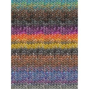 Katia Azteca - Charcoal, Fuchsia, Grey, Orange-Yarn-