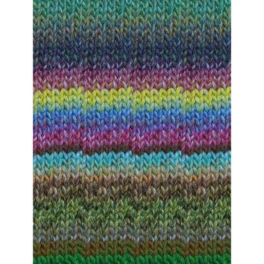 Paradise Fibers Katia Azteca - Green, Blue, Red, Fuchsia