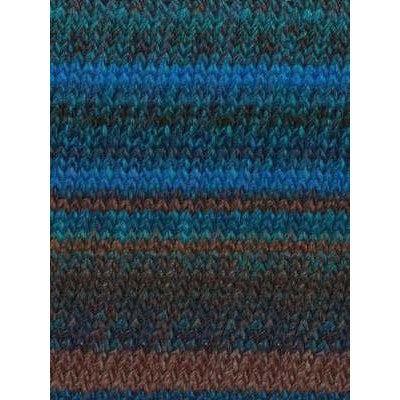 Paradise Fibers Katia Azteca - Blues, Brown