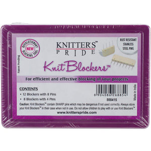 Knitter's Pride Knit Blockers - White-Notions-Paradise Fibers