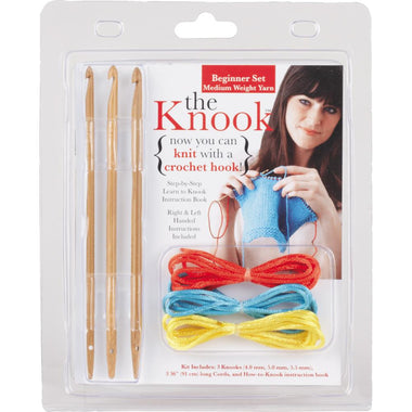 The Knook Beginner Set - Medium Weight Yarn-Knitting Accessory-Paradise Fibers