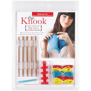 The Knook Beginner Set - Light, Medium & Bulky Weight Yarn-Knitting Accessory-Paradise Fibers
