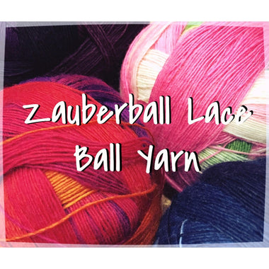 Paradise Fibers Yarn Schoppel-Wolle Zauberball Lace Ball Yarn  - 2