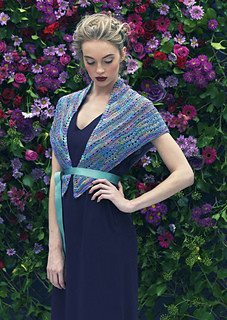 Louisa Harding Fennel Shawl Pattern