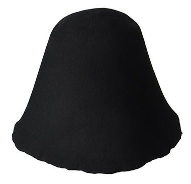 Lacis Millinery Base Wool Hoods