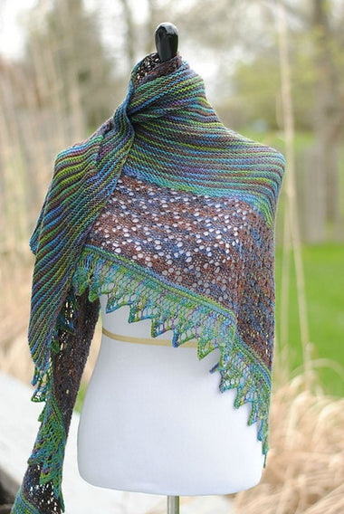 Laidley Shawl Pattern by Mindy Wilkes  - 1