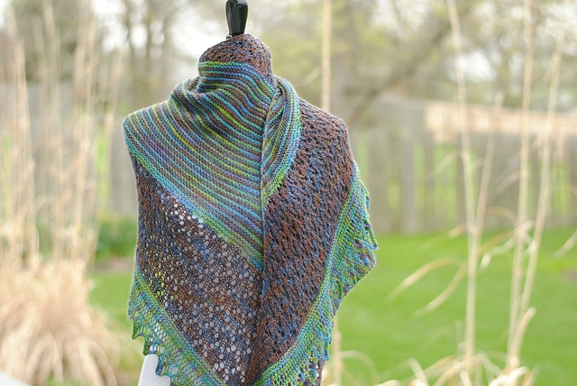 Laidley Shawl Pattern by Mindy Wilkes  - 2